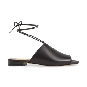 Sam Edelman Tai Slide Sandal Ankle Strap Leather
